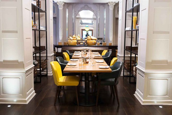 Mercante, Italian restaurant in Mayfair London