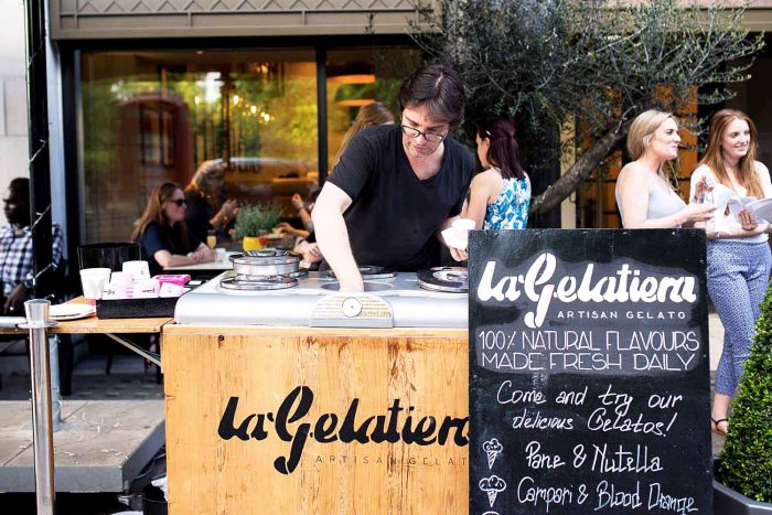 La Gelatiera Summer Pop-Up at Mercante in Mayfair, London