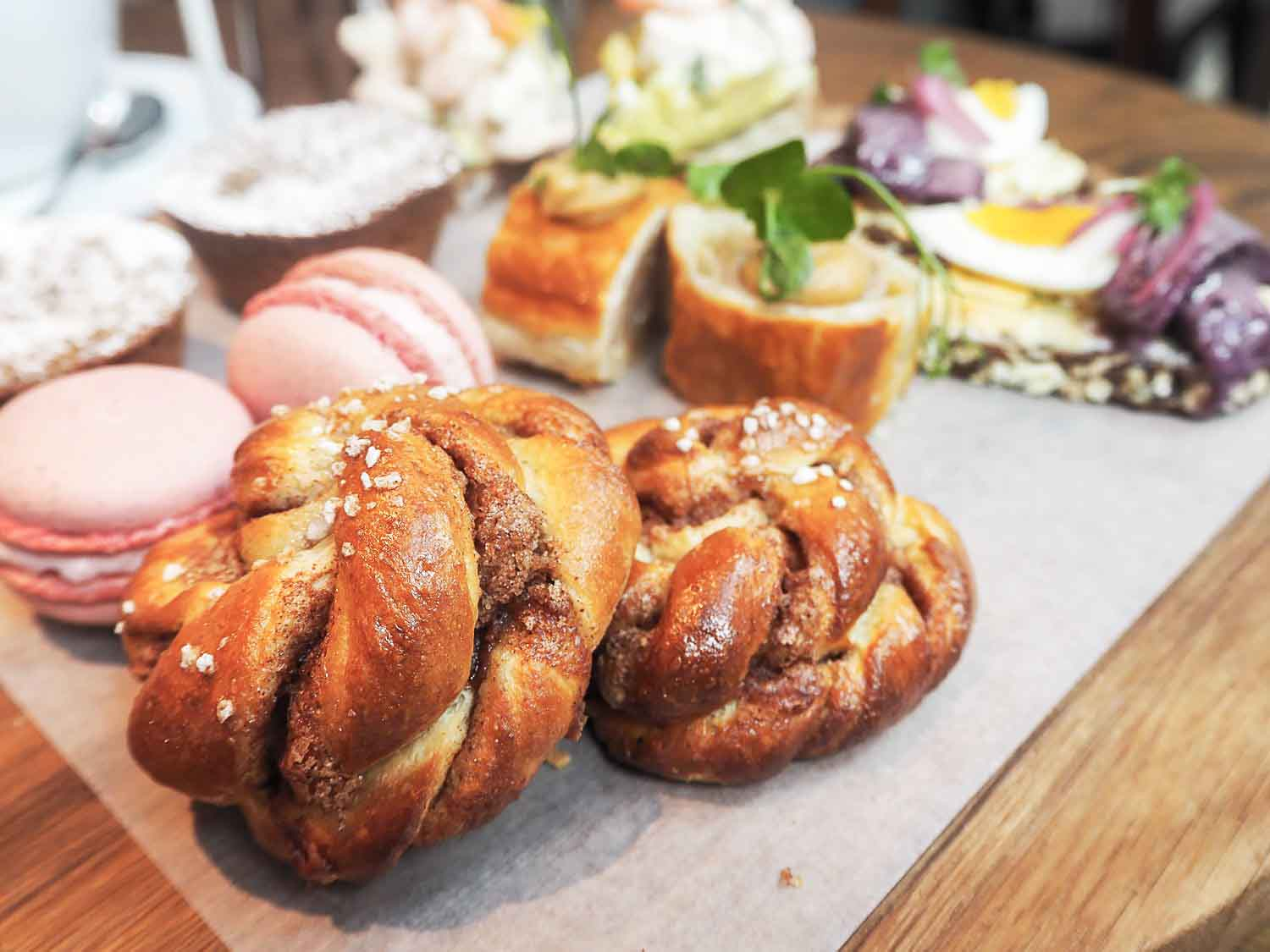 A Nordic Afternoon Tea at Aster in Nova Food, Victoria London