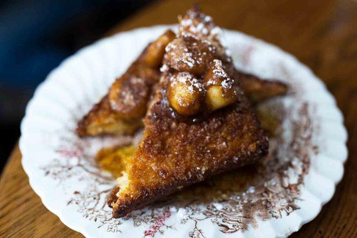 Cornflake French Toast at Eggbreak in London