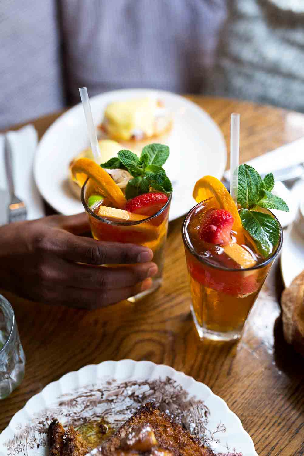 Pimm's Sunday Brunch at Eggbreak in Notting Hill