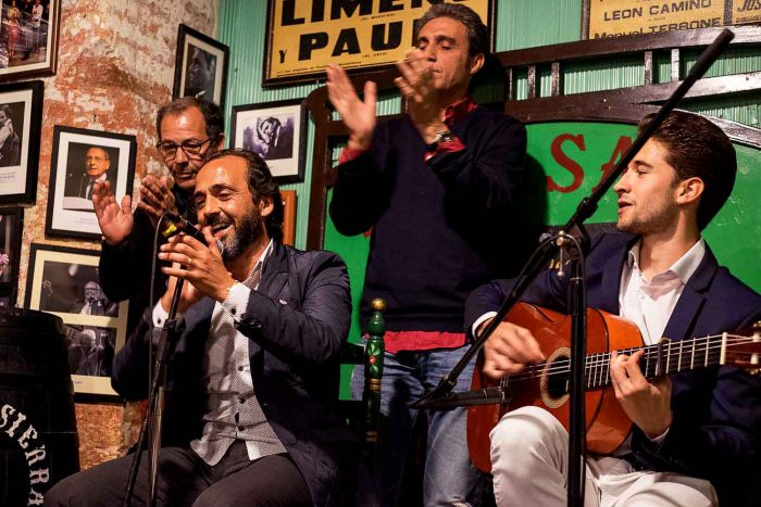 Flamenco at El Pasaje Tabanco in Jerez de la Frontera, Spain