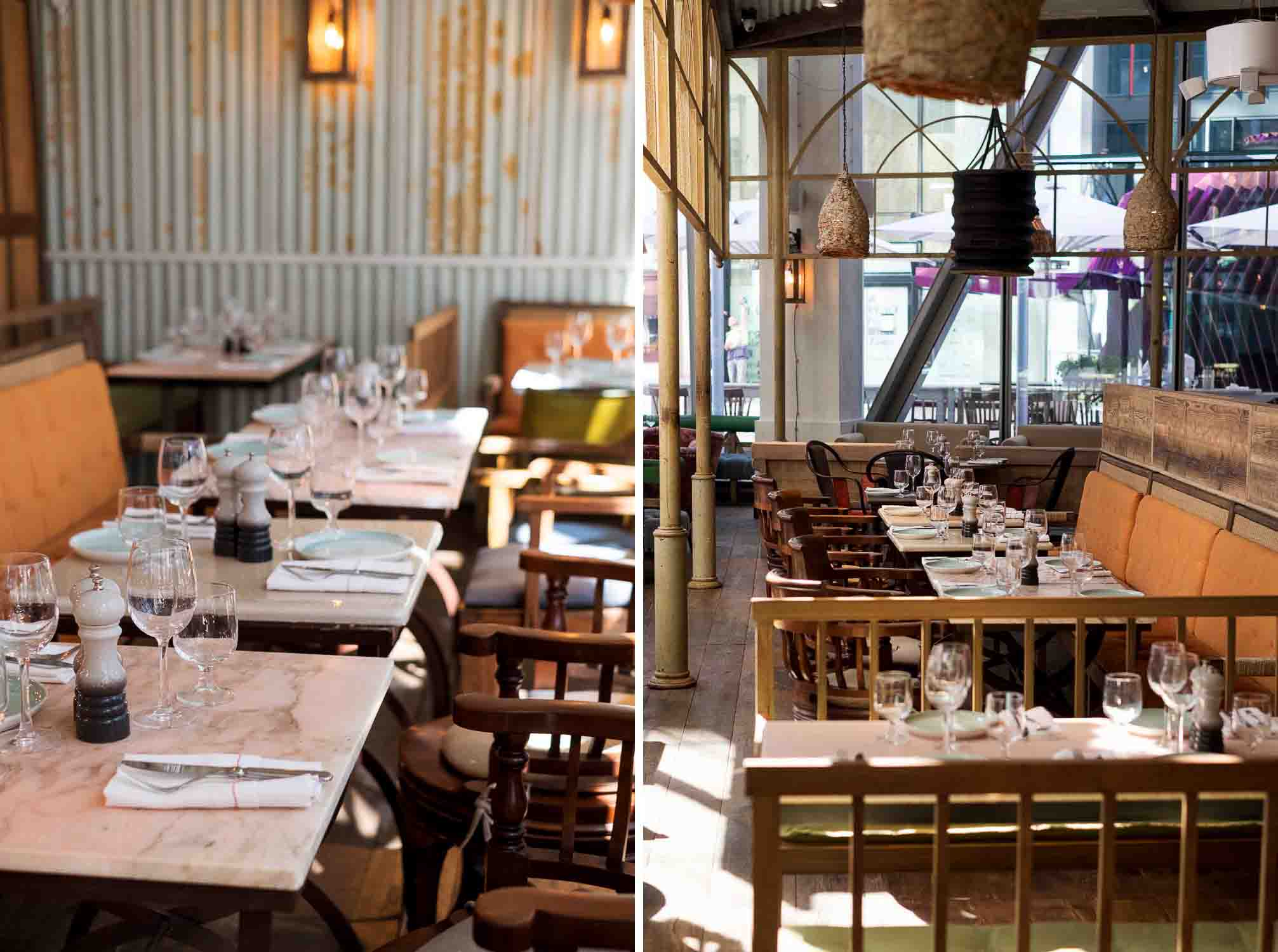 Rail House Café is a modern bar and brasserie - sister restaurant to Riding House Café- offering an international food menu in a relaxed and comfortable setting in Nova, Victoria
