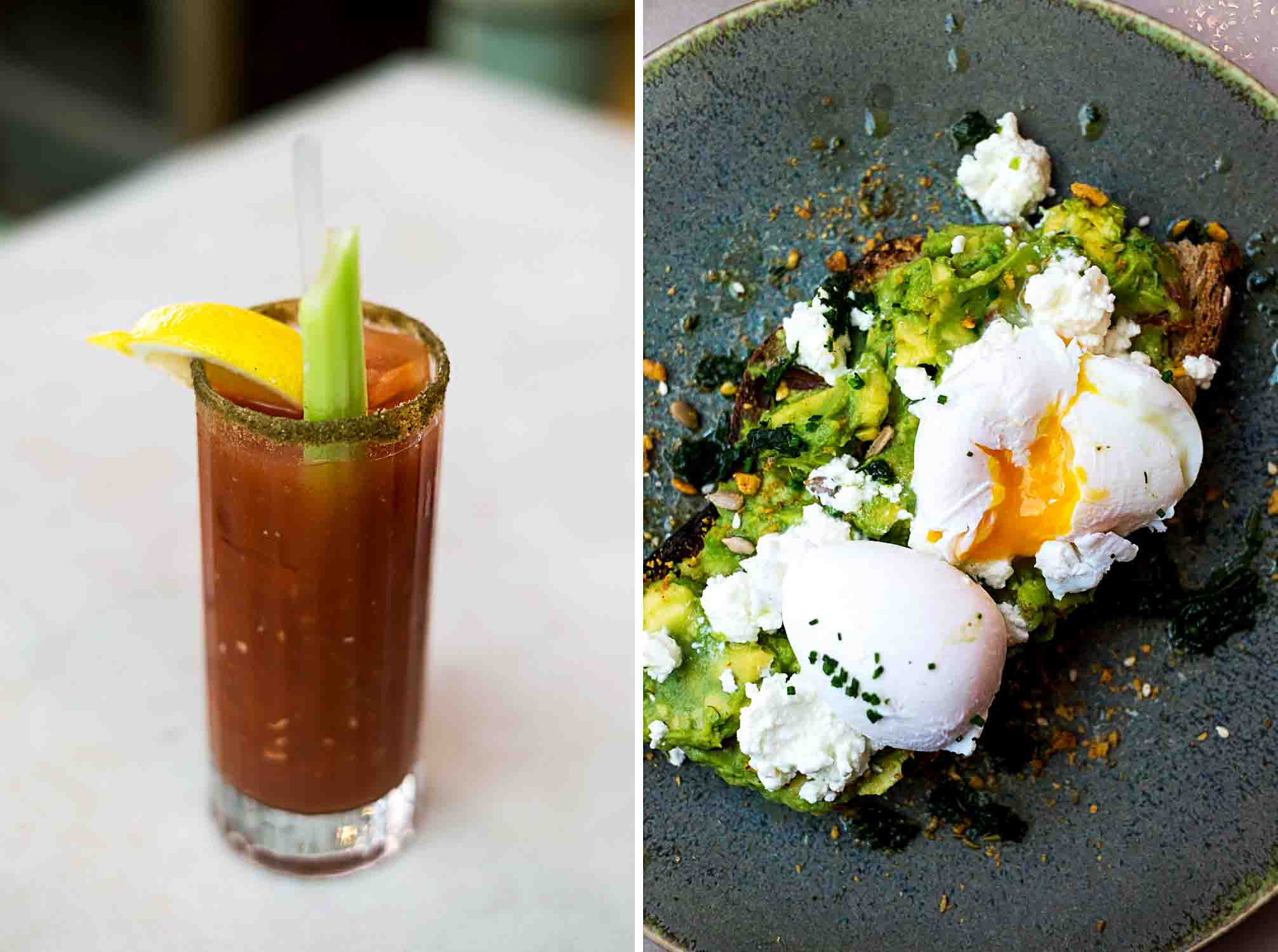 All Day Brunch and Bloody Mary's at Rail House Café in Nova, Victoria