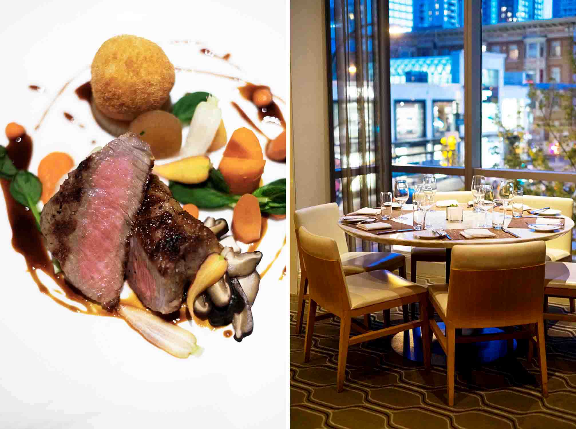 Market by Jean-Georges is the first restaurant in Canada for three-star Michelin chef Jean-Georges Vongerichten. It's located on the third floor of the Shangri-La hotel Vancouver