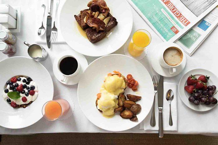 Breakfast at Shangri-La Vancouver