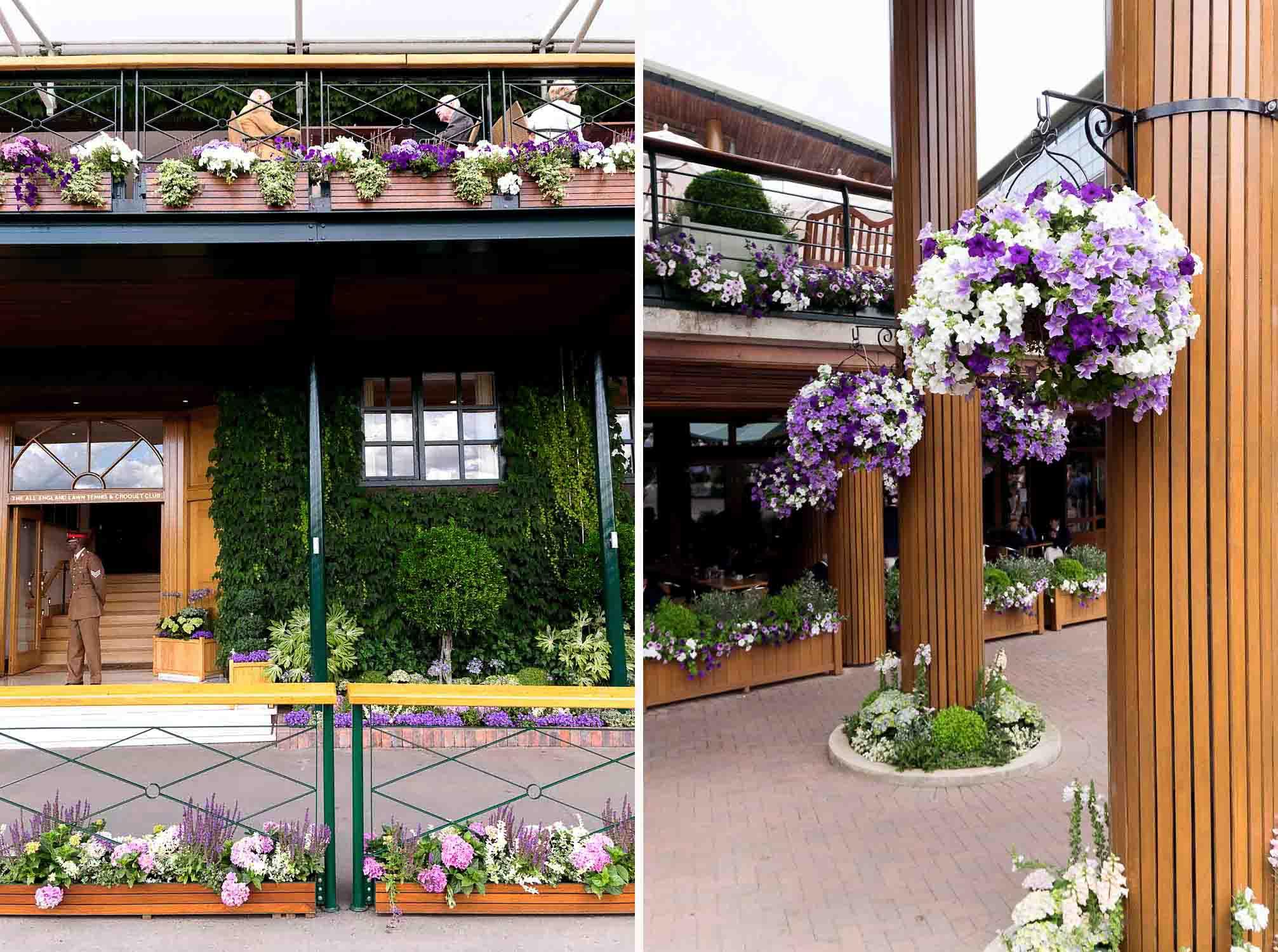 Wimbledon 2017 Tennis Championship at All England Lawn Tennis and Croquet Club