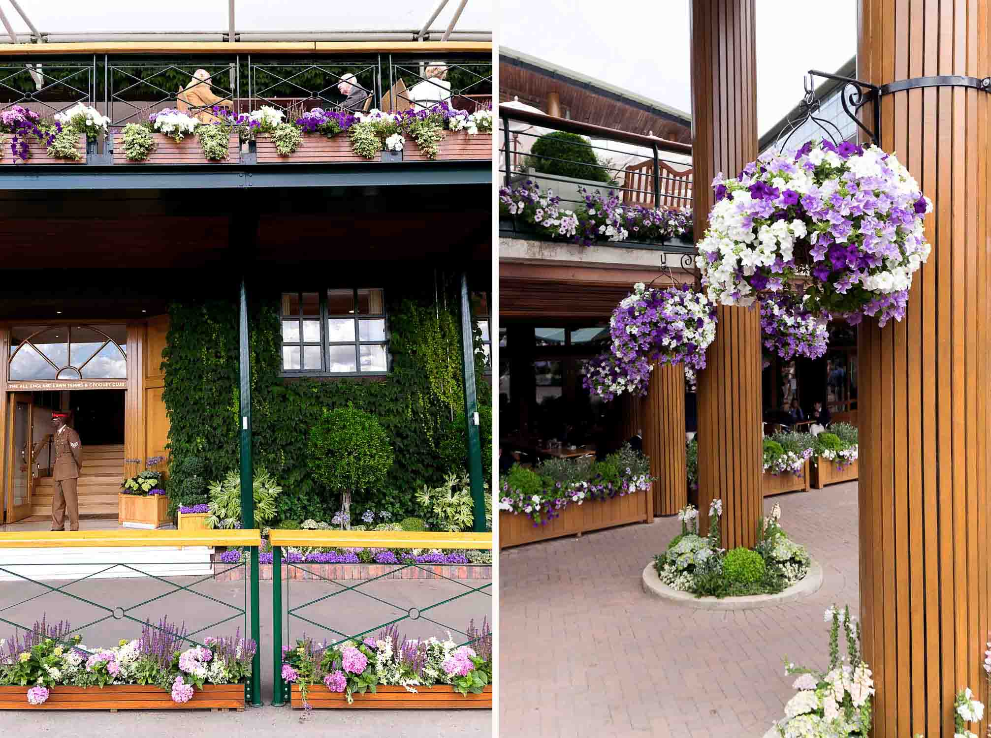 Wimbledon 2017 Tennis Championship at All England Lawn Tennis and Croquet Club
