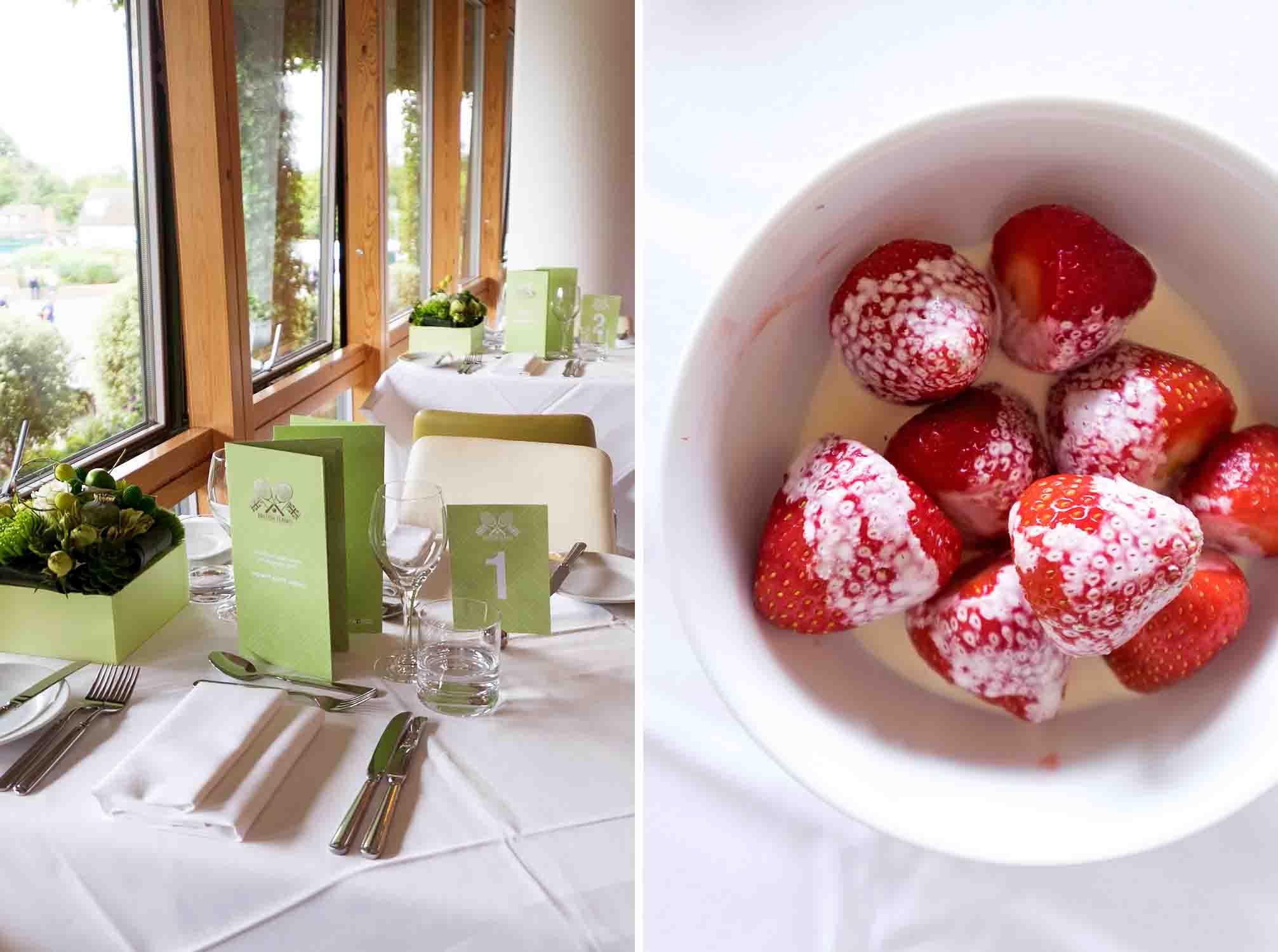 Strawberries and Cream Semifreddo - Mondomulia