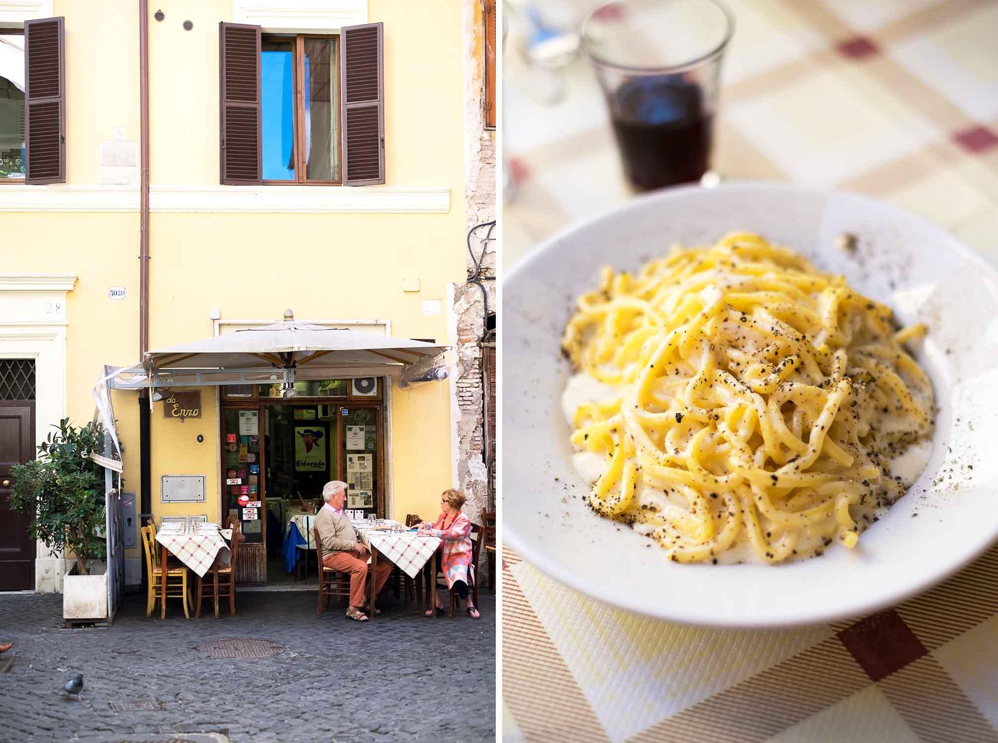 Da Enzo al 29, Trattoria in Trastevere, Rome - ITALY