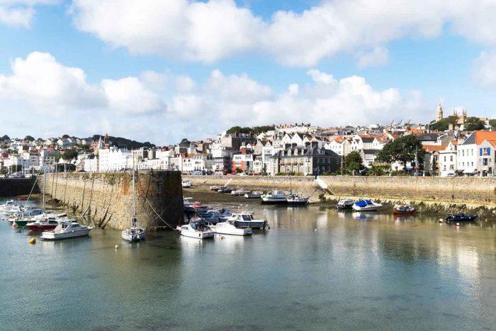 Saint Peter Port Harbour - Guernsey, Channel Islands