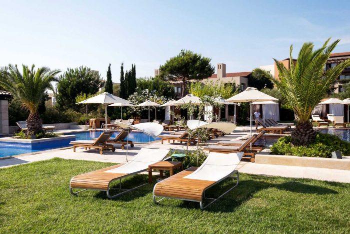 The Romanos Hotel - Costa Navarino Resort in Messinia, southwest Greece
