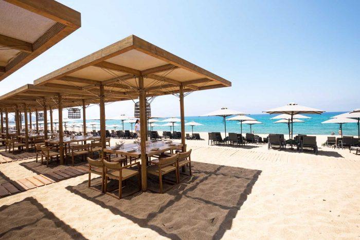 The Romanos Hotel - Barbouni restaurant - Costa Navarino Resort in Messinia, southwest Greece