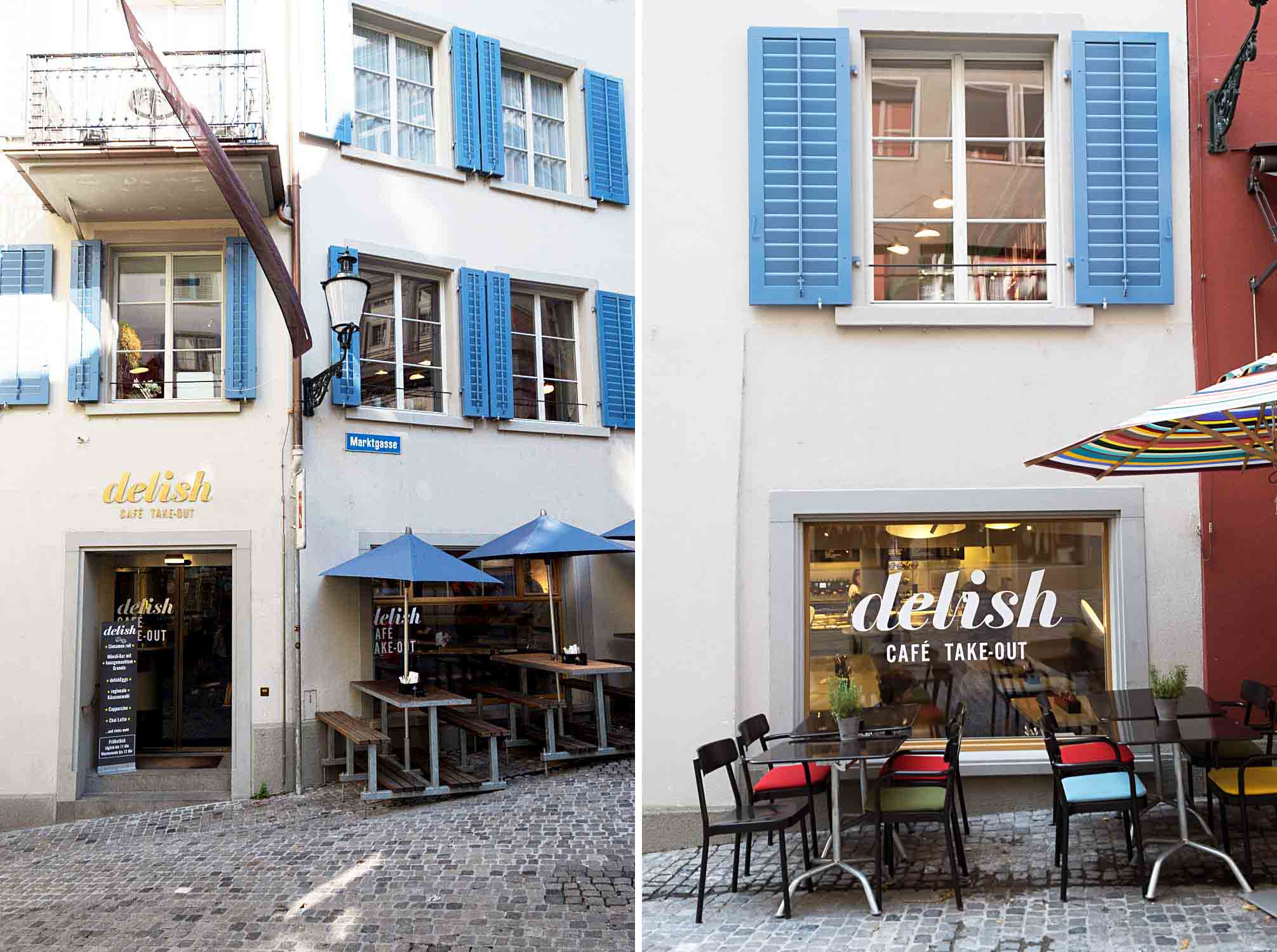 DELISH CAFÉ AND DELI - Marktgasse Hotel is a boutique hotel housed in a historic townhouse in the district of Niederdorf in Zurich, Switzerland