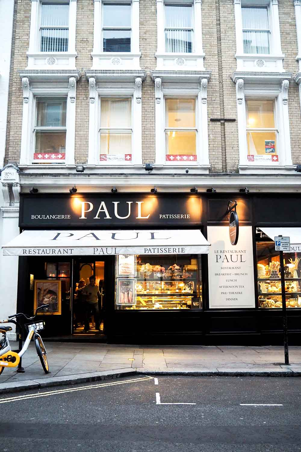 Éclair Making Workshop at Paul Bakery, Covent Garden London