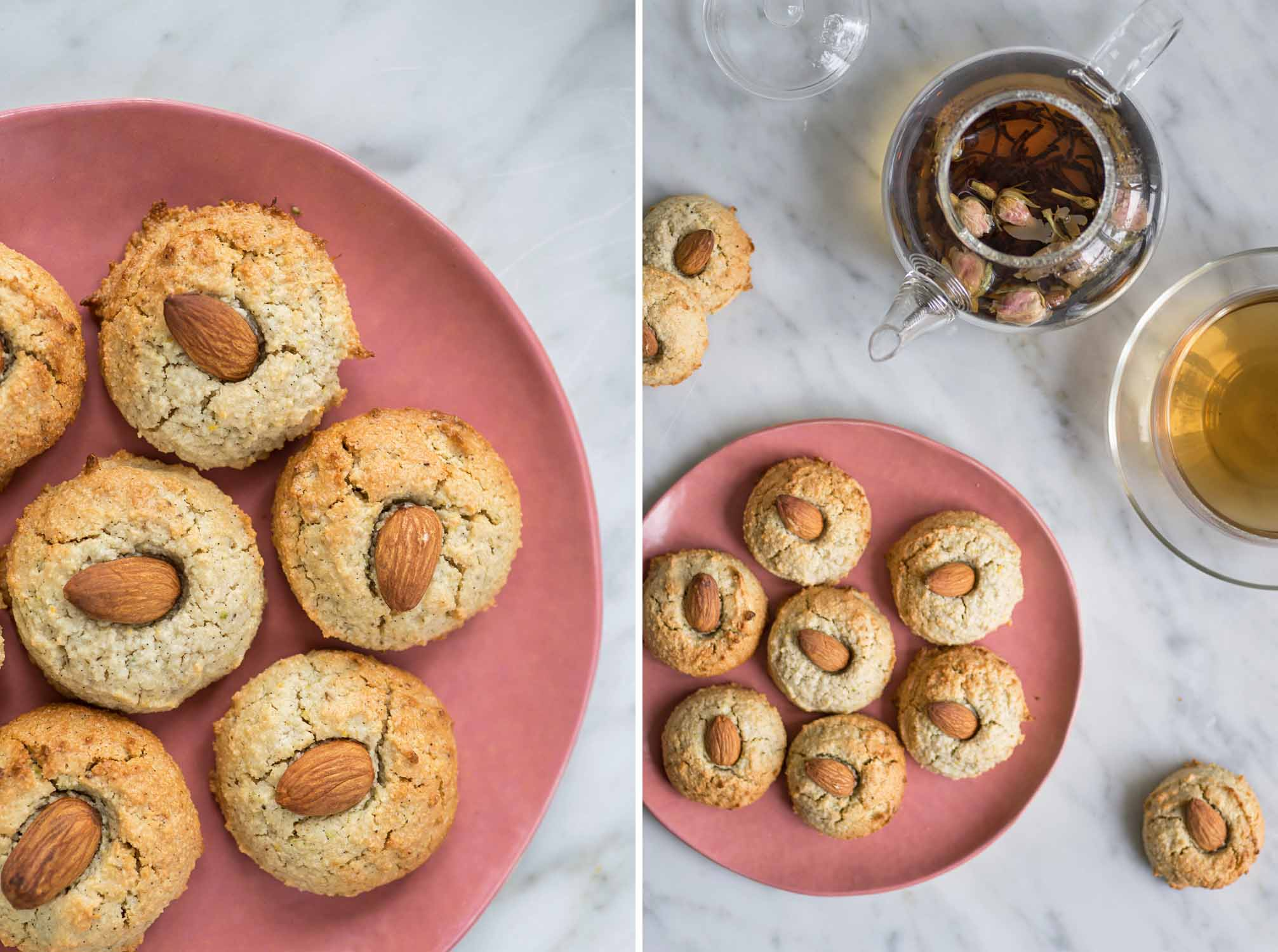 Soft Sicilian Almonds Cookies (dairy and gluten free)