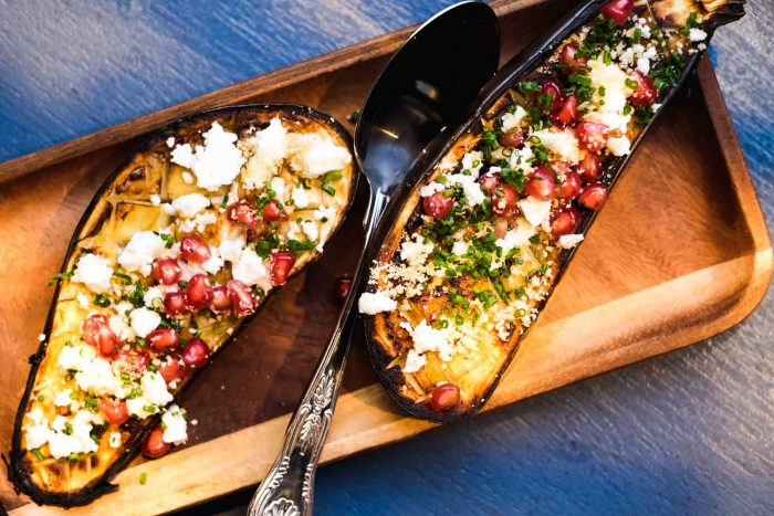 Aubergine Modern Athenian Cuisine, Greek Wines and Craft Beers at Suvlaki Shoreditch in London