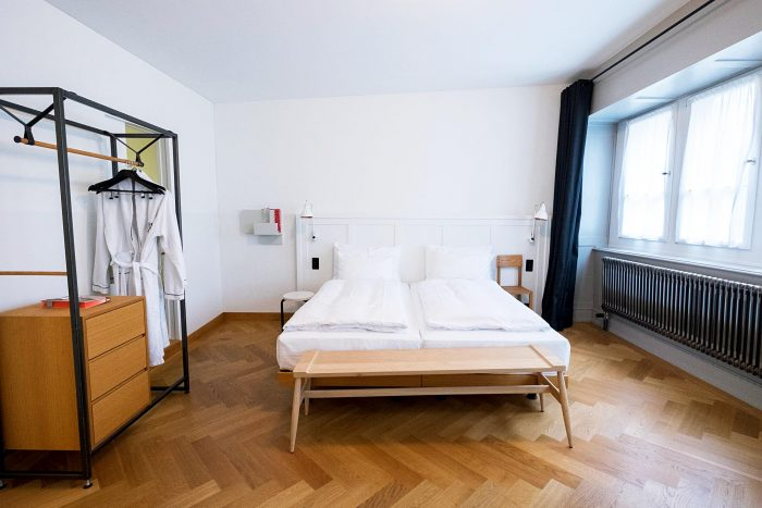 A boutique stay at Marktgasse Hotel, a historic townhouse in the district of Niederdorf in Zurich, Switzerland
