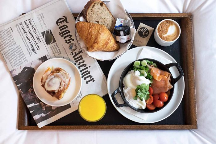 Breakfast in bed - Marktgasse Hotel in Zurich