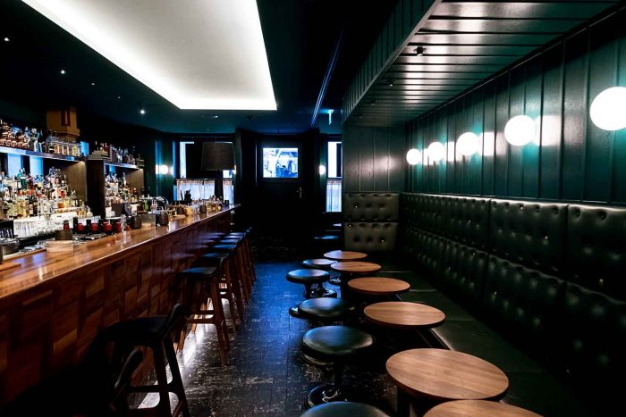 Baltho Bar - Marktgasse Hotel is a boutique hotel housed in a historic townhouse in the district of Niederdorf in Zurich, Switzerland