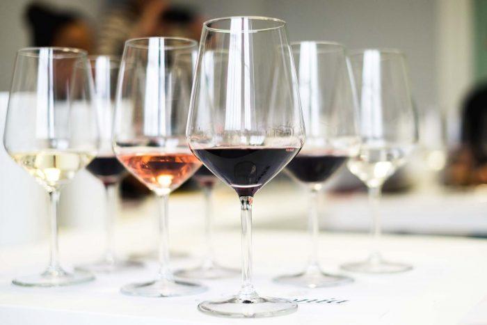 Wine tasting at Bodega Beronia winery in Rioja, Spain