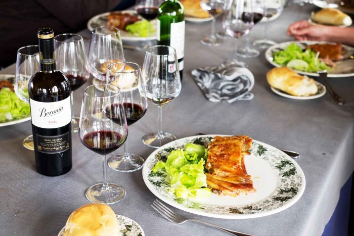 Spanish Lunch at Beronia Winery in Ollauri, Rioja - Spain