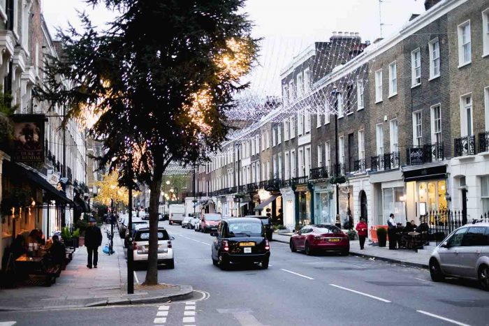 Connaught Village in London