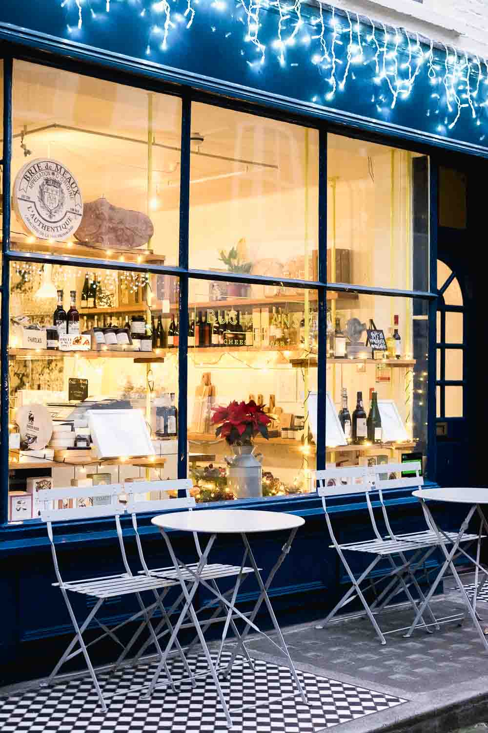 Buchanan's Cheesemonger in Connaught Village in London