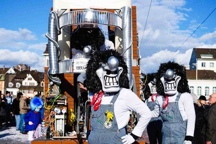 Fall in Love with Basel during Fasnacht, Switzerland's Largest Carnival, recognized by Unesco as 'intangible heritage'