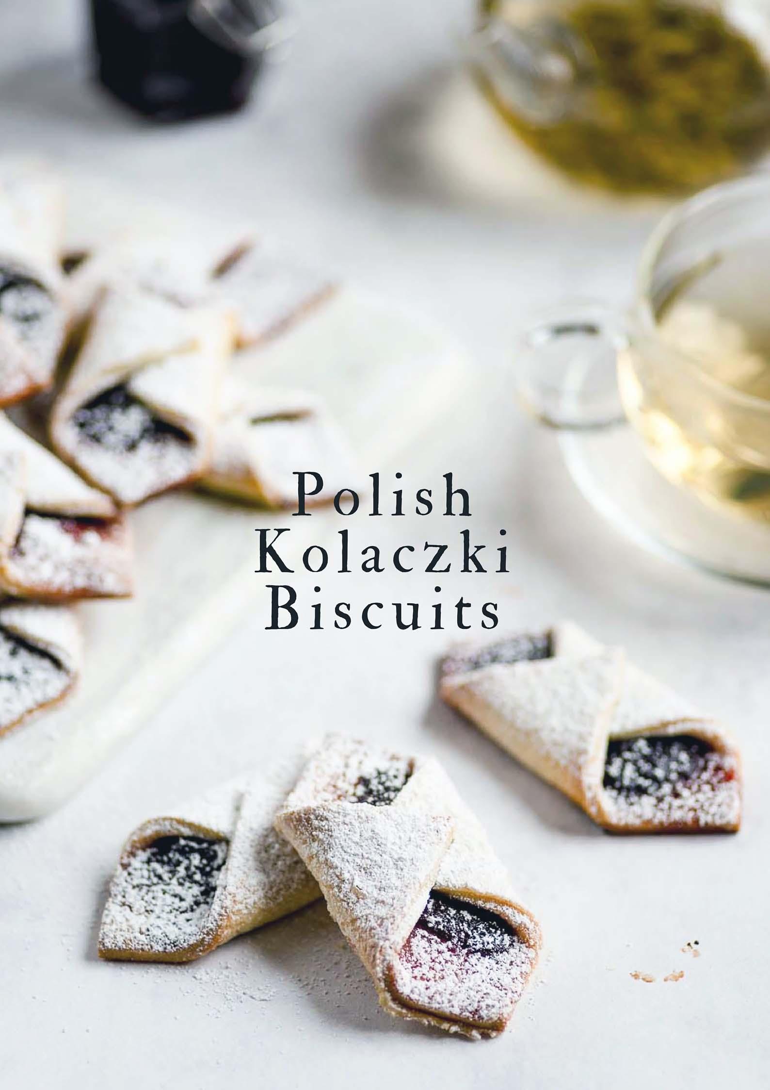 Kolaczki Biscuits - Polish Christmas Cream Cheese Biscuits with Jam