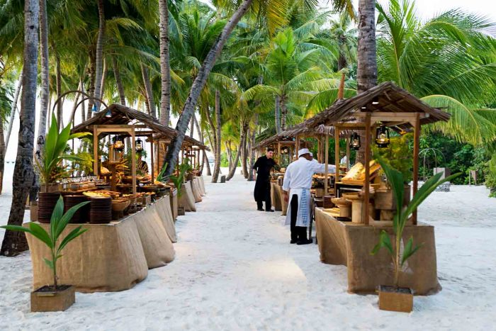 Asian Street Market - 7 Reasons to Stay at Gili Lankanfushi in the Maldives
