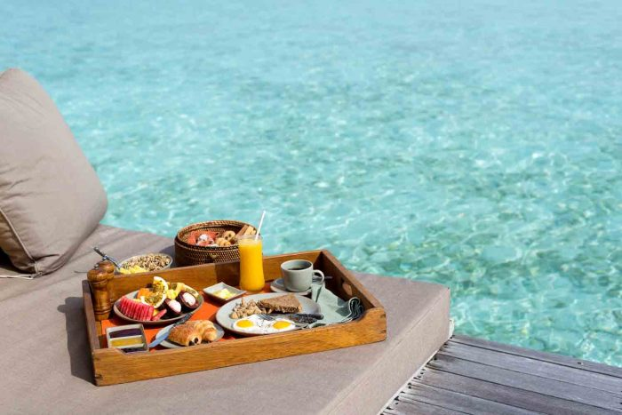 Breakfast - 7 Reasons to Stay at Gili Lankanfushi in the Maldives