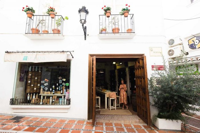 A tour of the charming old town of Marbella in Andalusia, Southern Spain