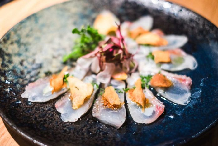 Dry Miso Style Japanese Red Snapper - Omakase Tasting Menu at Nobu Shoreditch in London