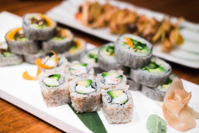 Sushi - Nobu restaurant at Puente Romano Beach Resort in Marbella, Spain