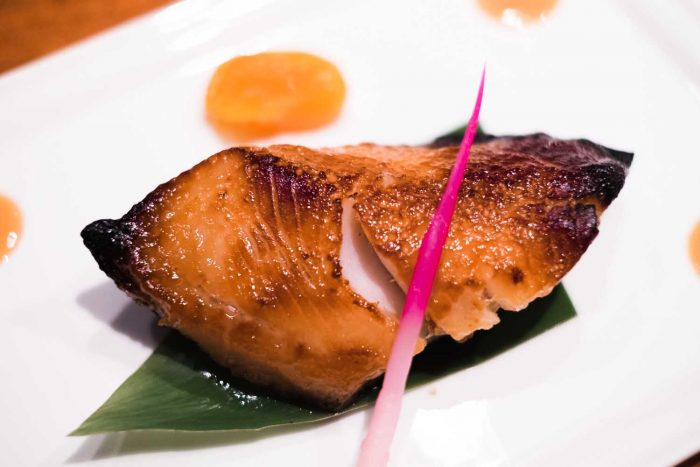 Black Cod Miso - Nobu restaurant at Puente Romano Beach Resort in Marbella, Spain