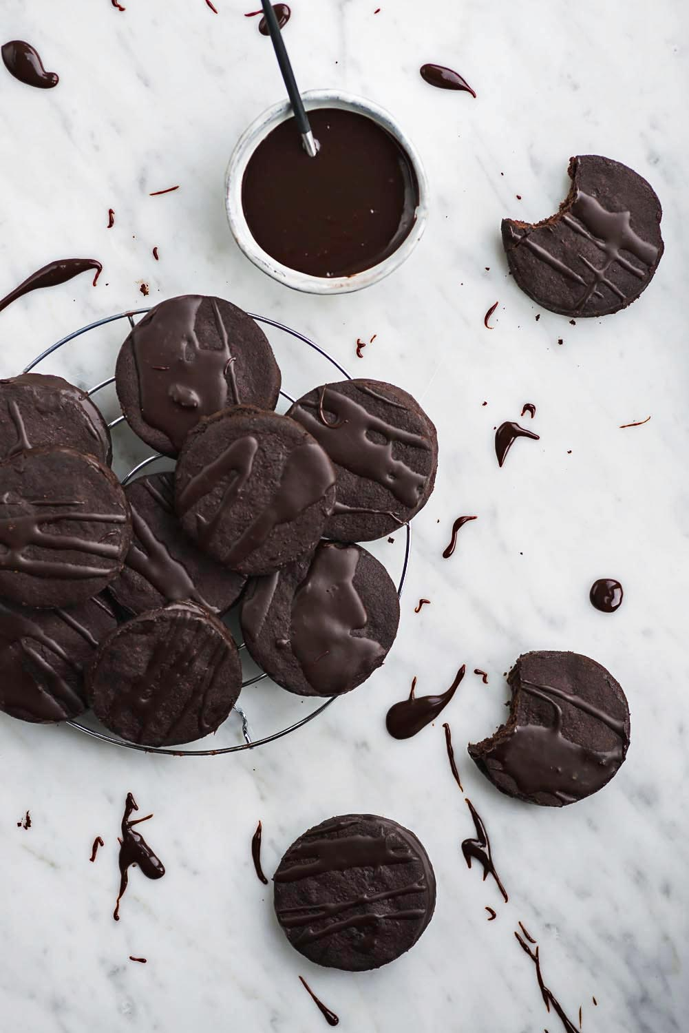Chocolate 'O' Cookie Recipe from SWEET cookbook by Yotam Ottolenghi and Helen Goh