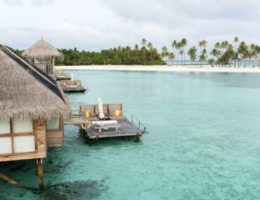 Luxury resort Gili Lankanfushi in the M aldives
