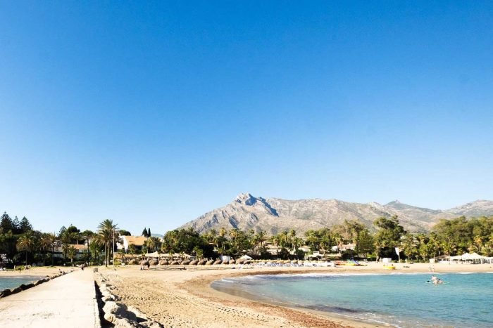La Concha mountain - Puente Romano Beach Resort, Marbella, Spain