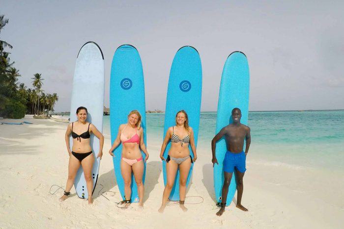 Surfing - 7 reasons to book a holiday to Gili Lankanfushi in the Maldives