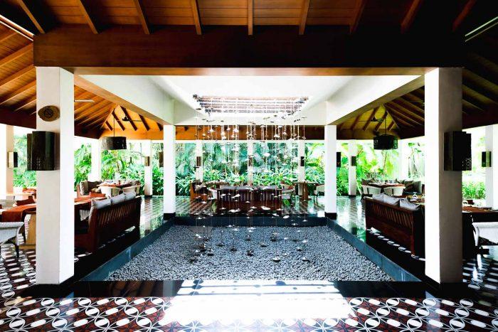 Bistro restaurant at Alila Diwa Club in Goa, India