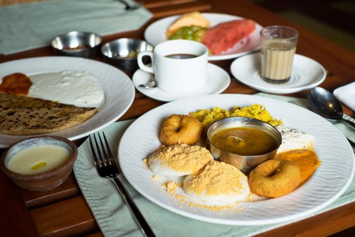 Vivo buffet restaurant at Alila Diwa Goa, India