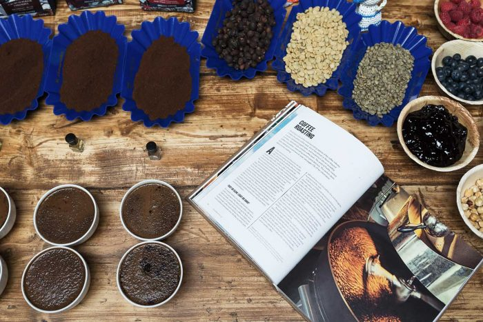 Coffee Cupping - An Extraordinary Cooking Workshop and Lesson in Speciality Coffee with Taylors of Harrogate at Cactus Kitchens in London
