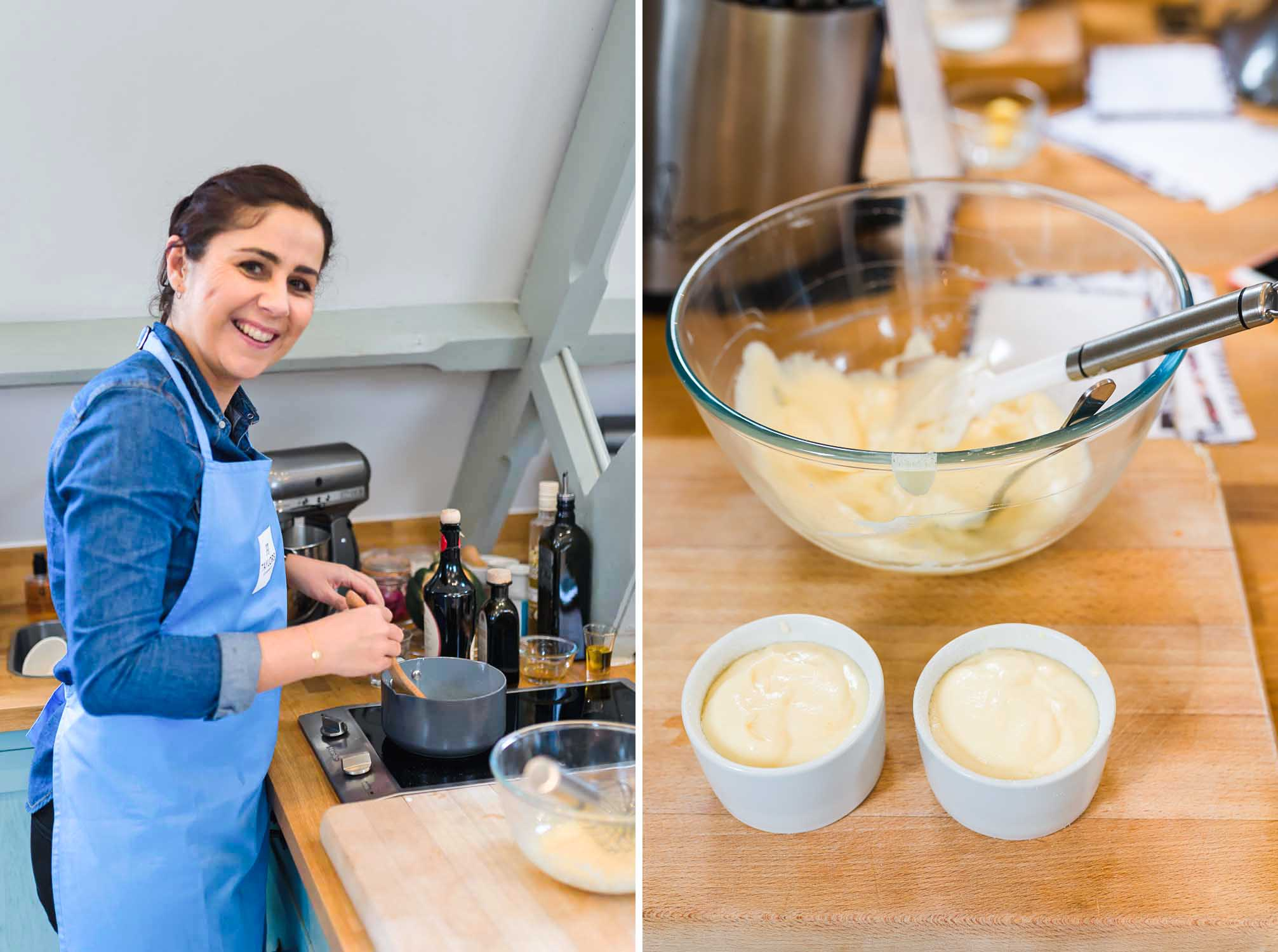 Cooking Workshop at Cactus Kitchens in London - Vanilla Soufflés with Taylors of Harrogate Coffee Crème Anglaise