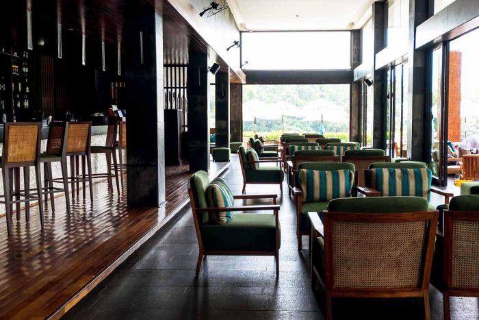Edge Bar and Lounge at Alila Diwa Goa, India