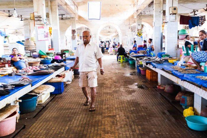 Margao Fish Market, Goa - India