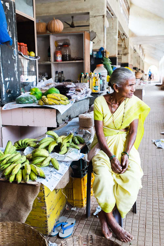 Margao Fruit and Vegetable Market, Goa - India
