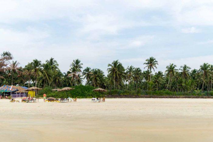 Gonsua Beach in Majorda, Goa - India