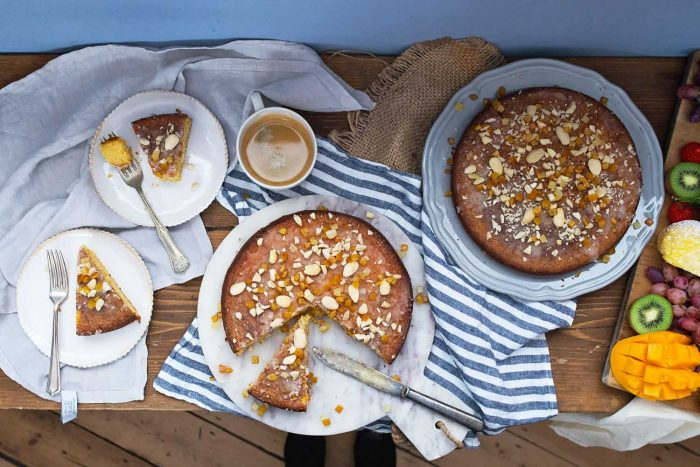 Orange scented Olive Oil and Almond Cake - An Extraordinary Cooking Workshop with Taylors of Harrogate at Cactus Kitchens in London