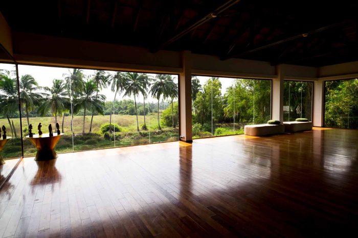 Fitness Centre and Spa at Alila Diwa Goa, India